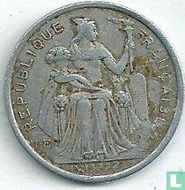 Frans-Polynesië 2 francs 1977