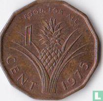 """Swaziland 1 cent 1975 """"FAO"""""""