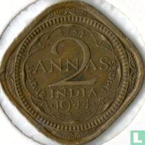 Brits-Indië 2 annas 1944 (kleine 4)