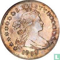 """United States 1795 """"centered bust"""""""
