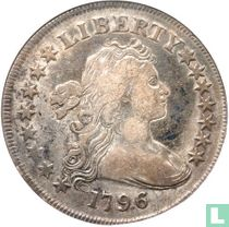 United States 1 dollar 1796 (large date, small letters)