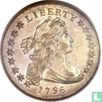 United States 1 dollar 1796 (small date, large letters)