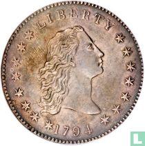 United States 1 dollar 1794