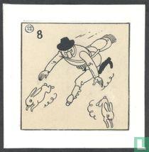Hergé original drawing