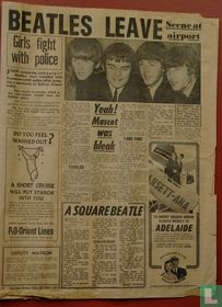 The Beatles leave
