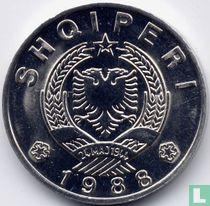 Albanien 50 Qindarka 1988