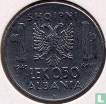 Albania 0.50 lek 1940