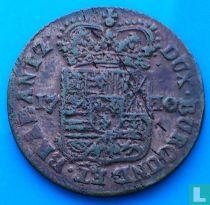 Namur 1 liard 1710