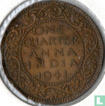 Brits-Indië ¼ anna 1941 (Calcutta)