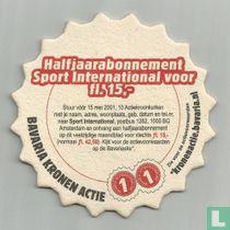 Halfjaarabonnement Sport International voor fl 15,-