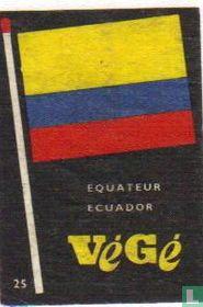 vlag Equador