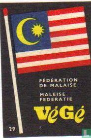 vlag Maleise federatie