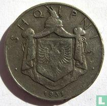 Albanië ½ lek 1931