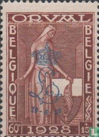 Eerste Orval, met opdruk