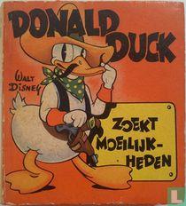 Donald Duck zoekt moeilijkheden