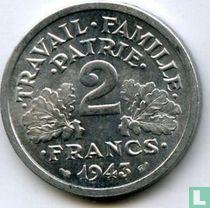 Frankreich 2 Franc 1943 (B)