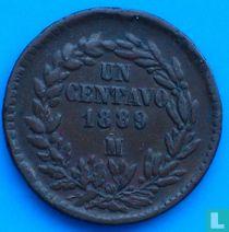 Mexico 1 centavo 1889 (Mo)