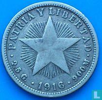 Cuba 10 centavos 1916