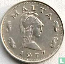 Malta 2 cents 1977