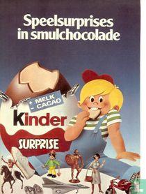 Speelsurprise in smulchocolade