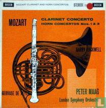 Clarinet concerto / Horn concertos