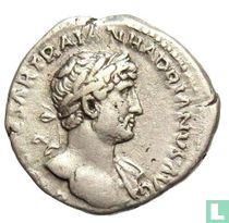 Hadrianus 117-138, AR Denarius Rome 119-125