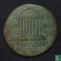 Romeinse Keizerrijk Bithynia as van Keizer Hadrianus 117-138