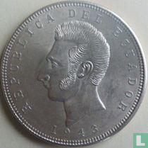 Ecuador 5 sucres 1943