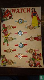 Snow White counter display - watches