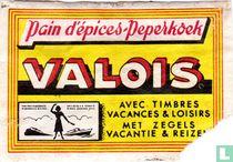 Pain d'épices-peperkoek Valois