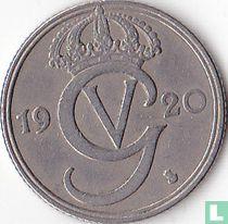 Schweden 50 Öre 1920 (null-Runde)