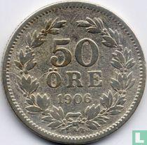 Schweden 50 Öre 1906