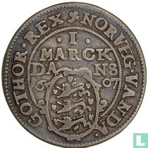 Denemarken 1 marck 1607 (Kopenhagen)