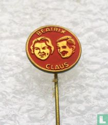 Beatrix Claus (rond) [rood]