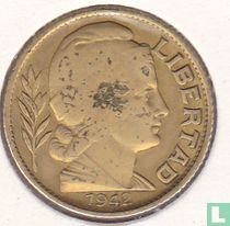 Argentinië 20 centavos 1942 (hoofd rechts - gesloten 9)