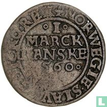 Denemarken 1 marck 1560