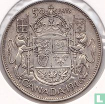 Canada 50 cents 1946