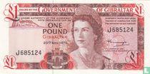 Gibraltar 1 Pound 1975