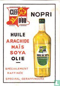 Nopri Clef D'Or - Huile arachide