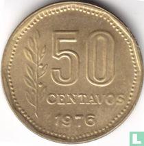 Argentinië 50 centavos 1976