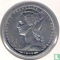 Cameroon 1 franc 1948