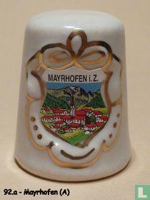 Mayerhofen (A) - Dorpsaanzicht