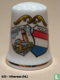 Wapen 2x - Hilversum + Holland