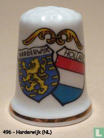 Wapen 2x - Harderwijk + Holland