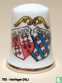 Wapen 2x - Harlingen - Friesland