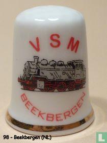 Spoorwegen - Stoomtrein V.S.M.