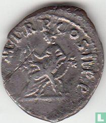 Romeinse Keizerrijk Denarius van Keizer Trajanus 99 n.Chr.