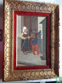 Painting Louis Geens from 1881