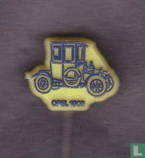 Opel 1908 [blauw op geel]