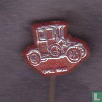 Opel 1908 [zilver op rood]